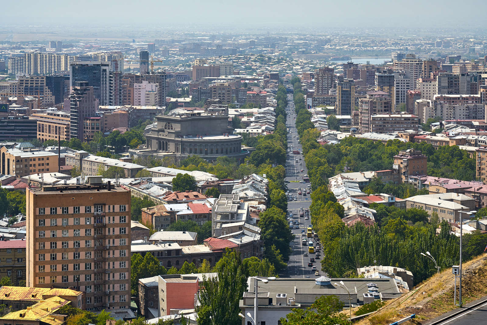 Ansichten Von Jerewan Armenien Bild Impressionen