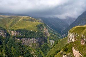 Großer Kaukasus, Georgien, September 2018