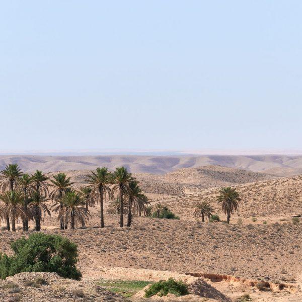 Bergland von Matmata, Tunesien, Oktober 2019