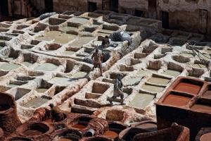 Fes, Gerberviertel, Marokko 2008