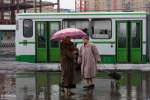 Kiever Bahnhof , Moskau 2005