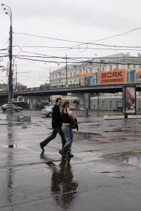 Metrostation Park Kultury, Moskau 2005