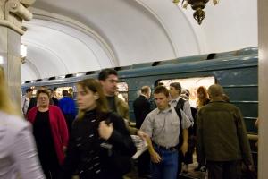Metrostation, Moskau 2005