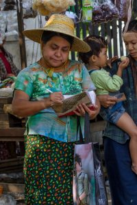 Bagan, Myanmar, Oktober 2015