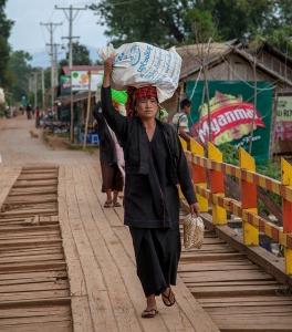 Inle-See, Myanmar, Oktober 2015