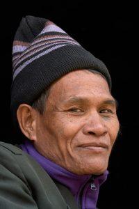 Dorf am Mekong, Laos, Februar 2018