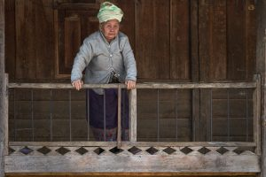 Dorf bei Phonsavan, Laos, Februar 2018