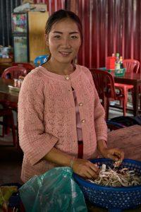 Phonsavan, Laos, Februar 2018