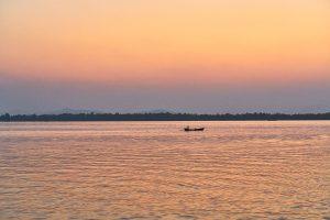 Than Lwin Fluss, Mawlamyine, Süd-Myanmar, März 2019