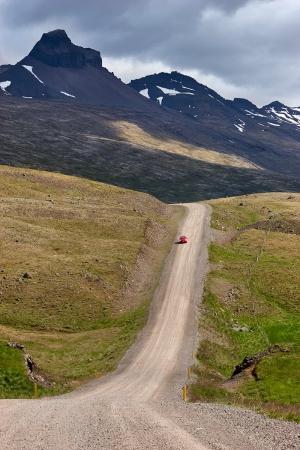 Ringstrasse nicht asphaltiert, Island 2008
