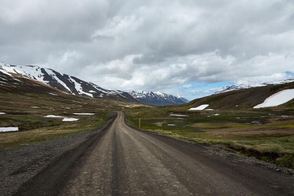 Straße Nr. 82, Island 2009