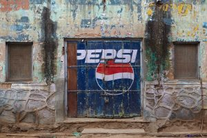 Die Konkurrenz (Pepsi), Shekhawati Region, Indien 2011