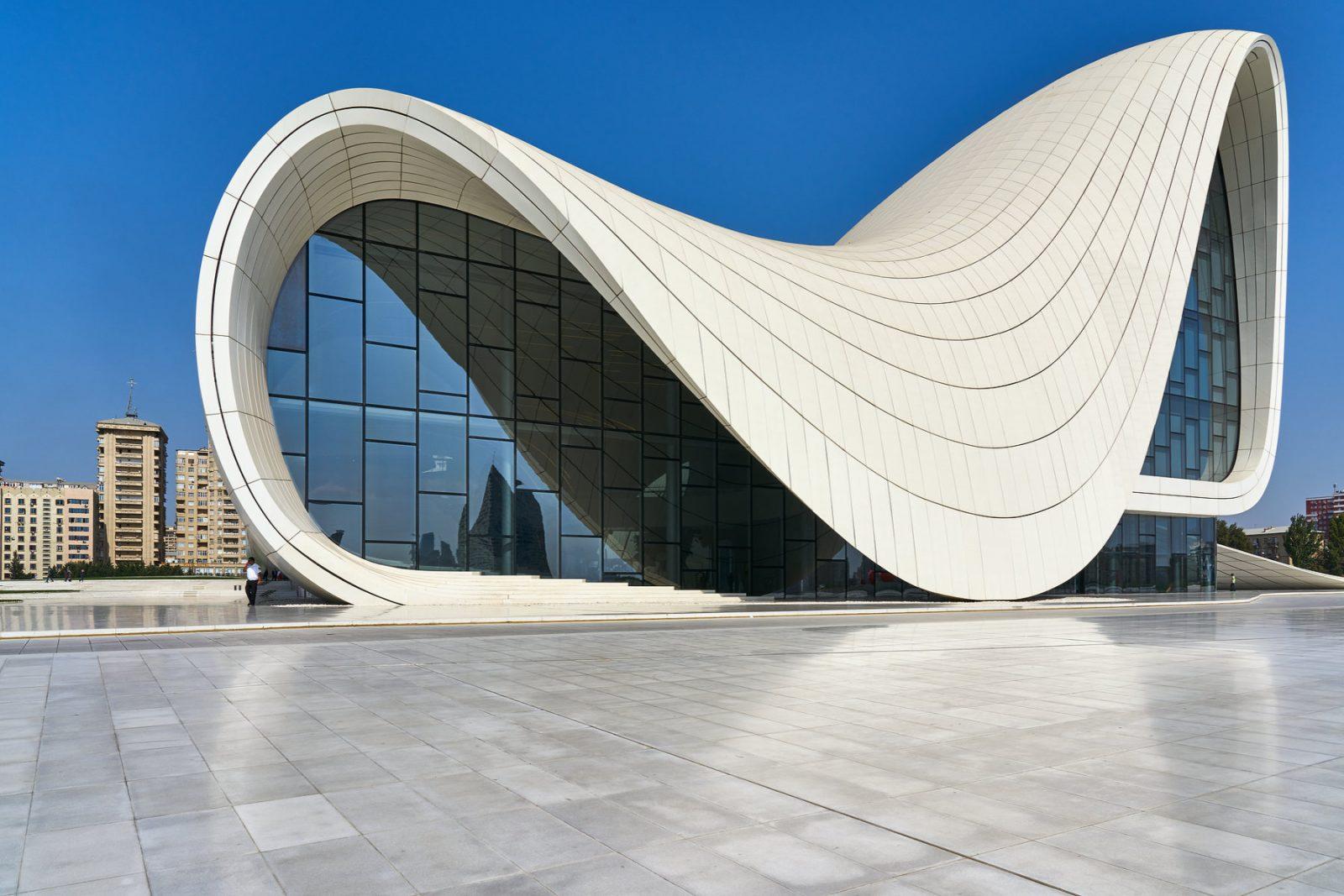 Heydan Aliev Cultural Center, Baku, Aserbaidschan, September 2018