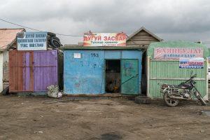 Markt in Charchorin (bei Karakorum), Mongolei 2017