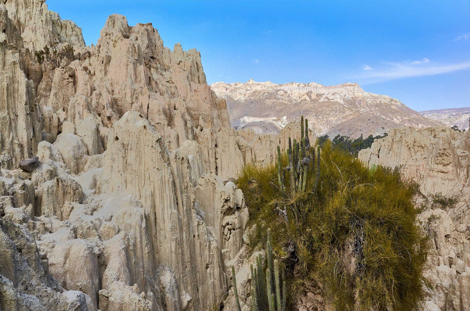 Valle de la Luna knapp zehn Kilometern südöstlich von La Paz, Bolivien 2016