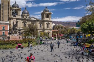 La Paz, Bolivien 2016