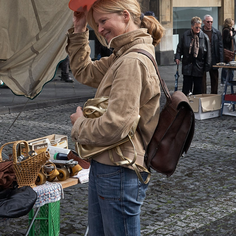 Flohmarkt, Aachen März 2008