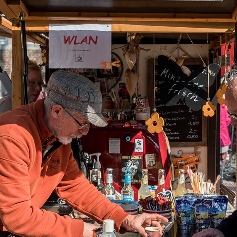Flohmarkt, Aachen April 2016