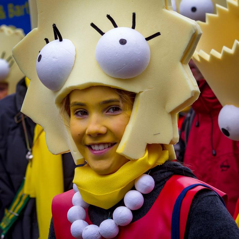 Karneval in Aachen Februar 2016