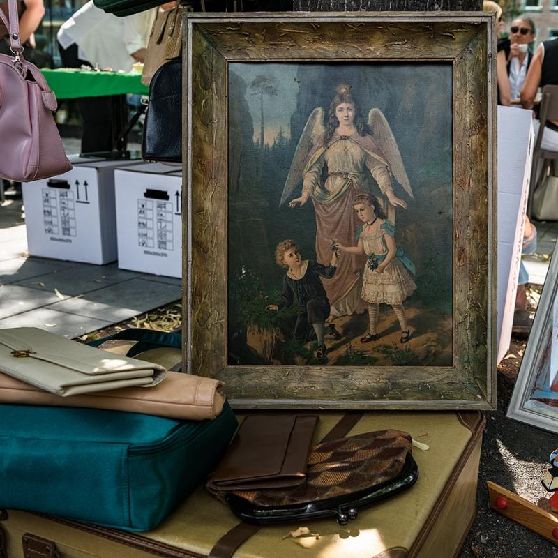 Flohmarkt, Aachen Juli 2016