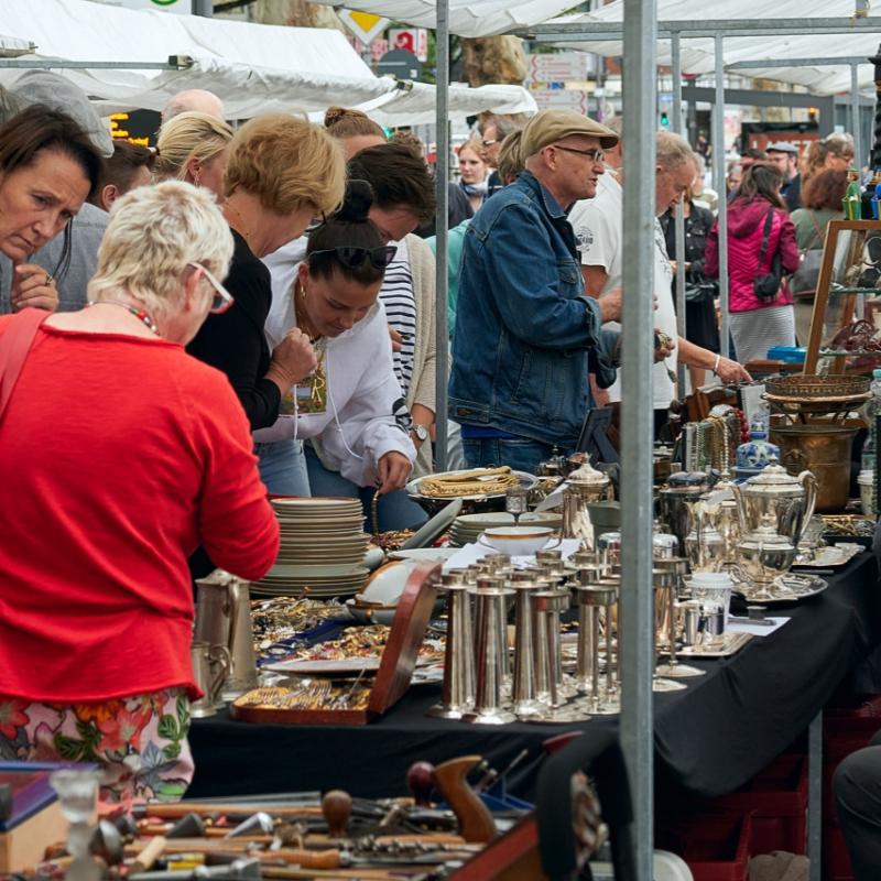 Flohmarkt, Aachen August 2019