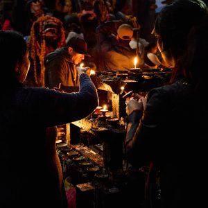 Kathmandu at Night, Nepal 2014