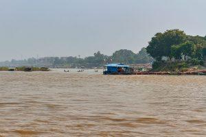 Irrawaddy River bei Mandalay, Myanmar Oktober 2015