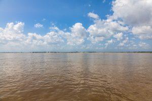 Irrawaddy River, Myanmar Oktober 2015