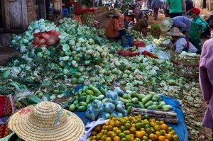 Markt in Heho, Myanmar 2015
