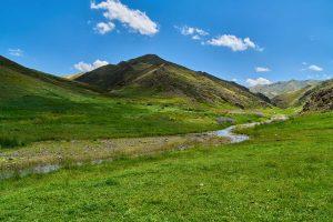 Nationalpark Gobi Gurwan Saichan (im Gobi-Altai), Mongolei August 2017